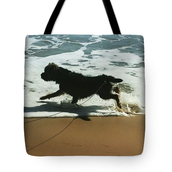 Seaside Frolics Tote Bag
