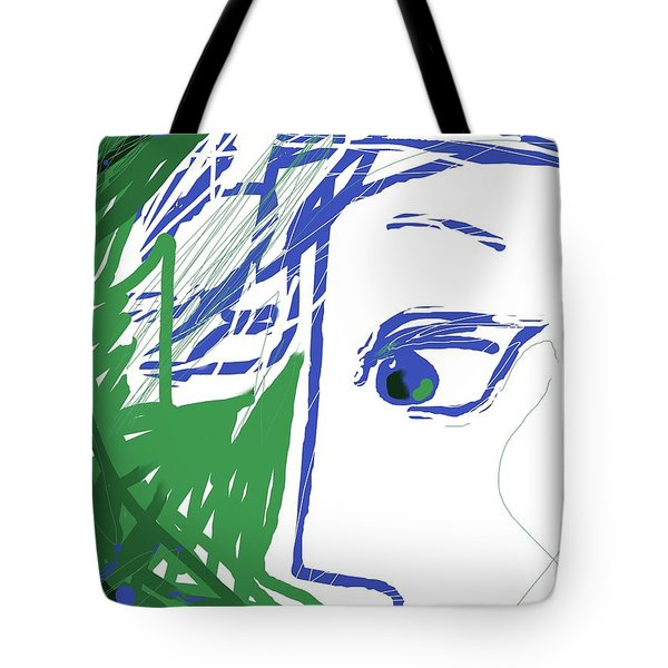 An Eye's View Tote Bag by Mary Armstrong