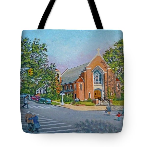 An Historical Church Tote Bag