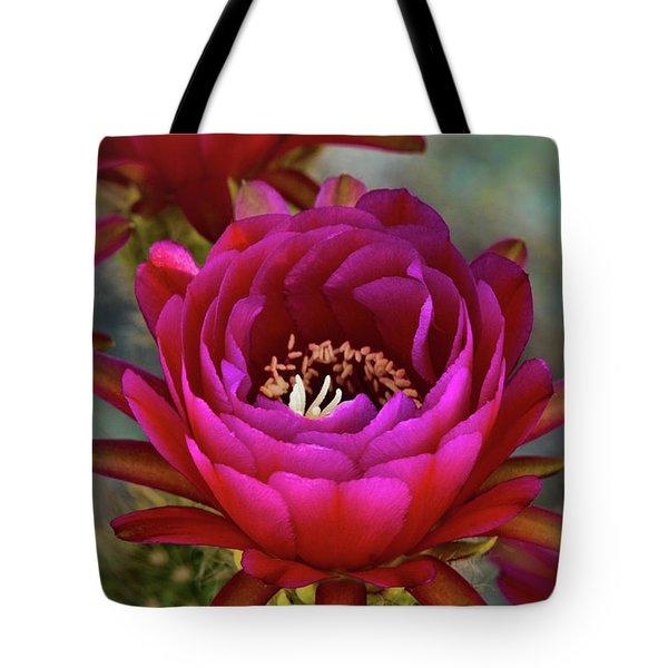 Tote Bag featuring the photograph An Inner Beauty by Saija Lehtonen