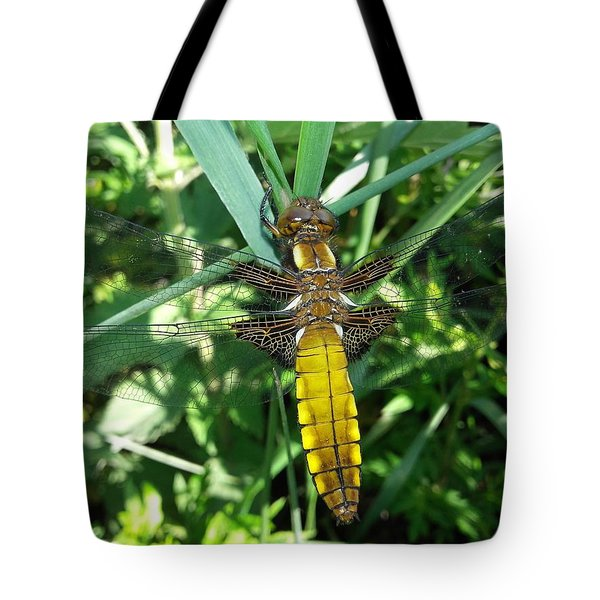 An Instant, A Beating Of Wings Tote Bag