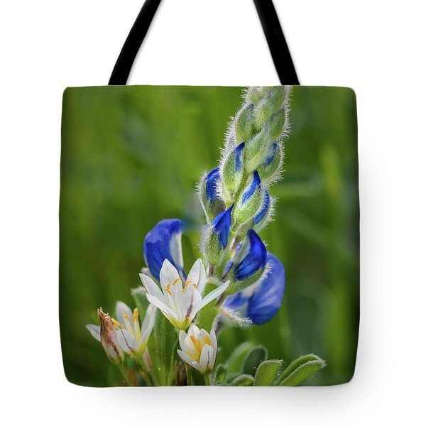 An Intimate Bouquet Tote Bag