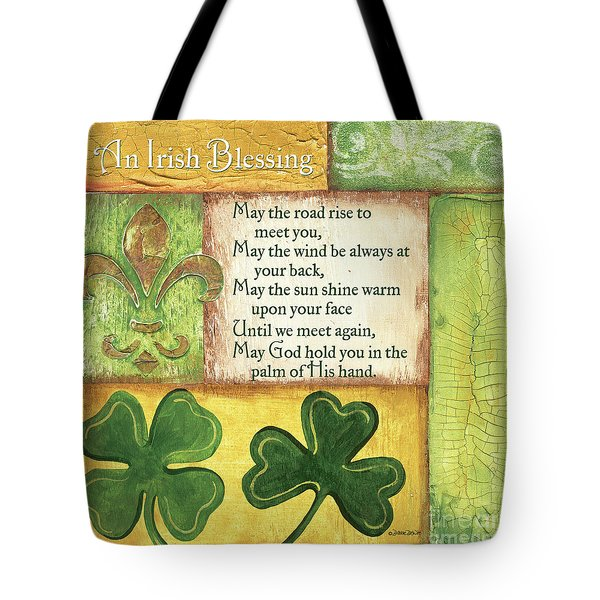 An Irish Blessing Tote Bag