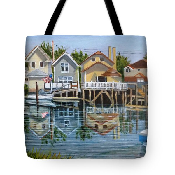 An Oasis Of Peace In Queens Tote Bag