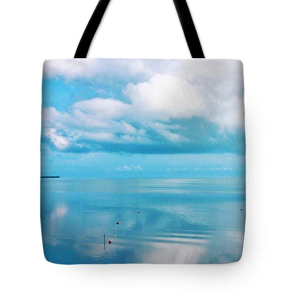An Ocean Like Glass Tote Bag
