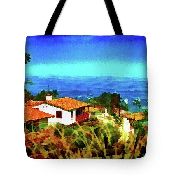 An Ocean View Tote Bag