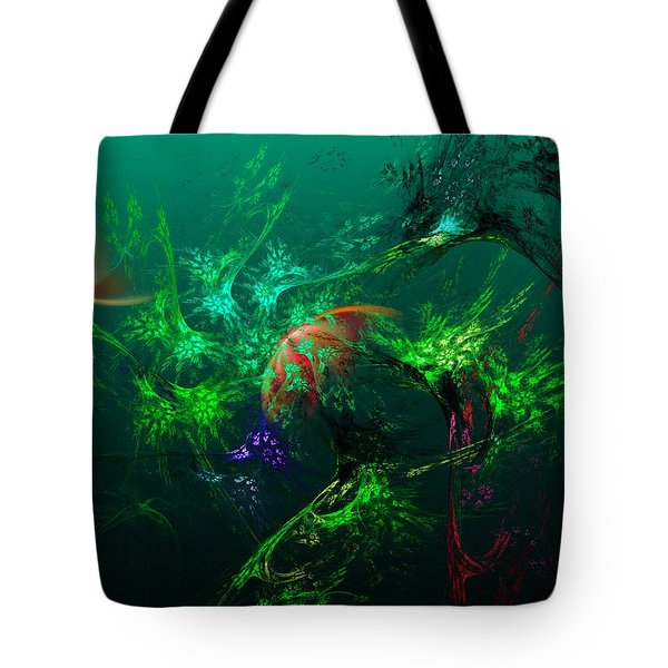 An Octopus's Garden Tote Bag