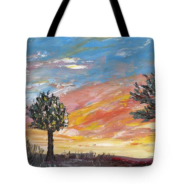 An Ohio Sunset Tote Bag