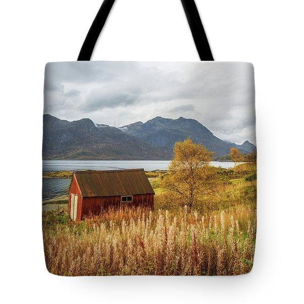An Old Boathouse Tote Bag