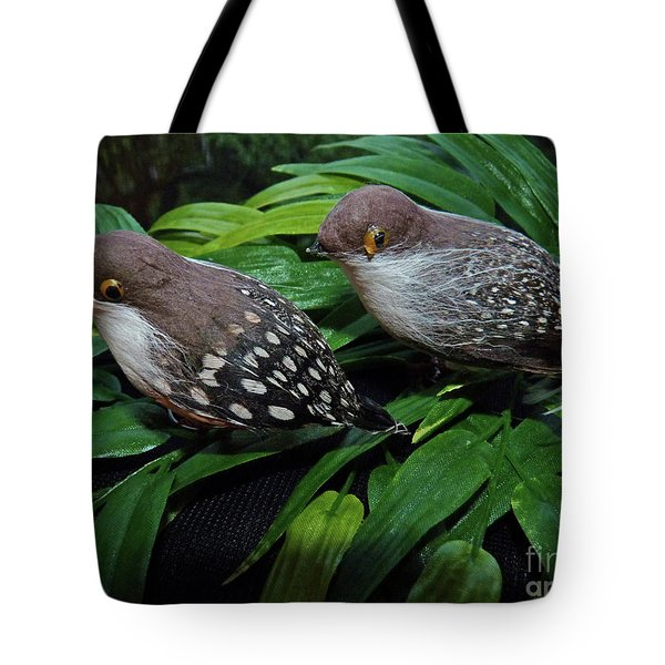 An Old Couple These Two Birds Tote Bag
