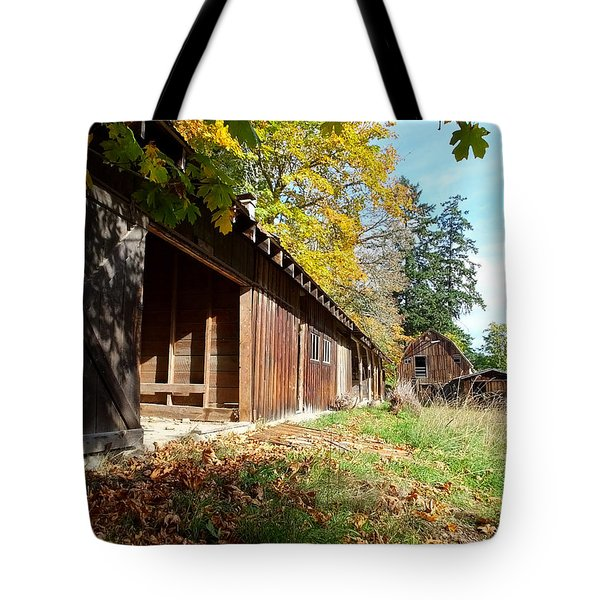 An Old Farm Tote Bag