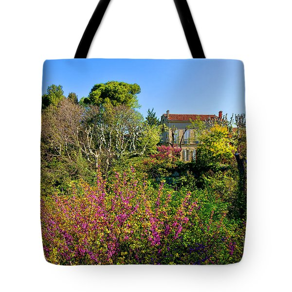 An Old House In Provence Tote Bag