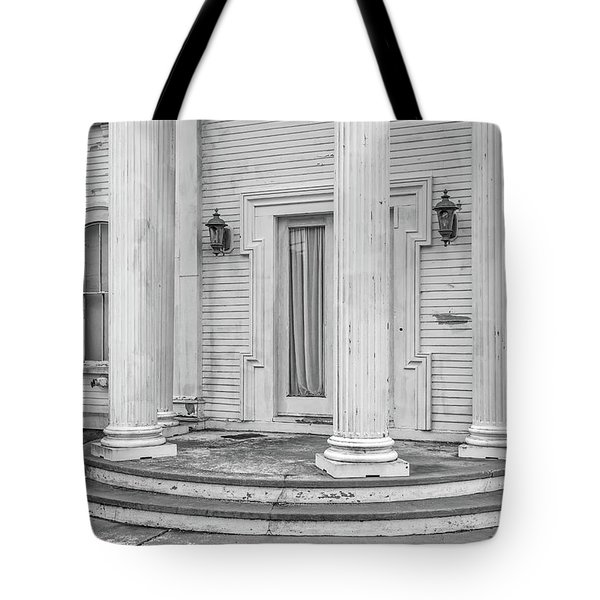 Tote Bag featuring the photograph An Old Mansion In Decay Dennis Ma by Edward Fielding