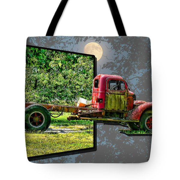 Tote Bag featuring the photograph An Old Relic by EricaMaxine  Price