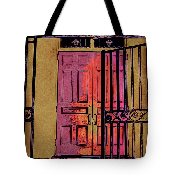 An Open Gate Tote Bag