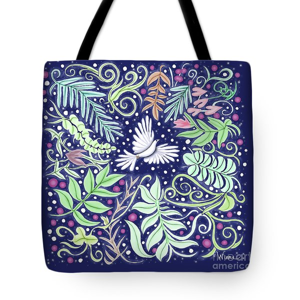 An Opening For A Dove Tote Bag