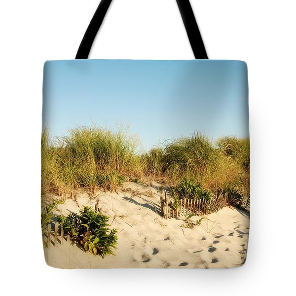 An Opening In The Fence - Jersey Shore Tote Bag