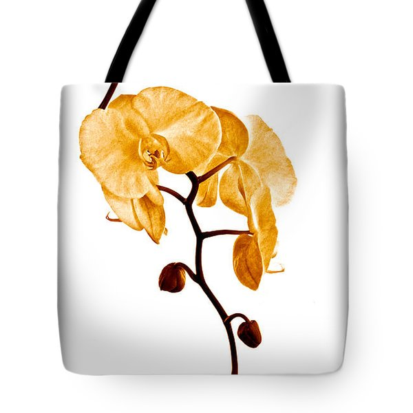 An Orchid's Perfume Tote Bag by Gwyn Newcombe