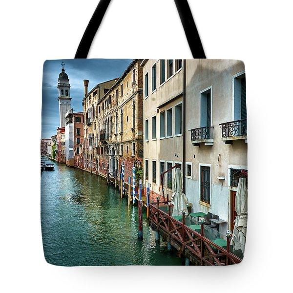 An Ordinary Venetian Road Tote Bag