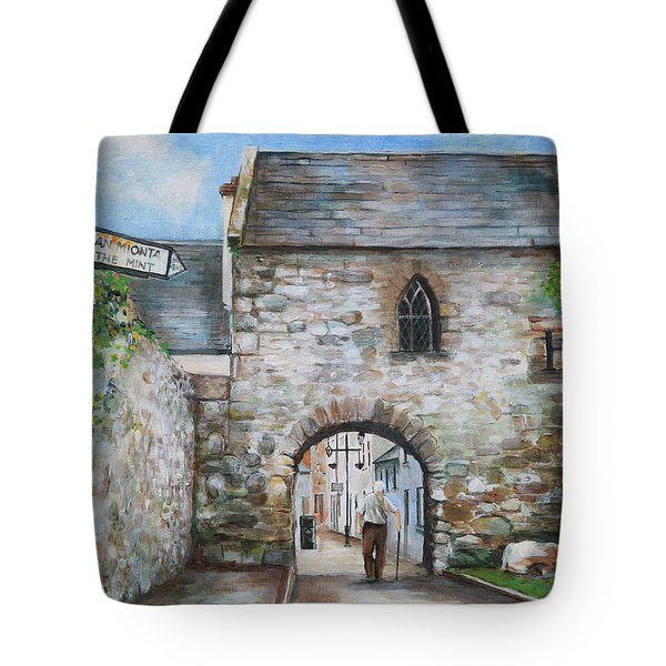 An Tholsel Tote Bag by Marty Garland