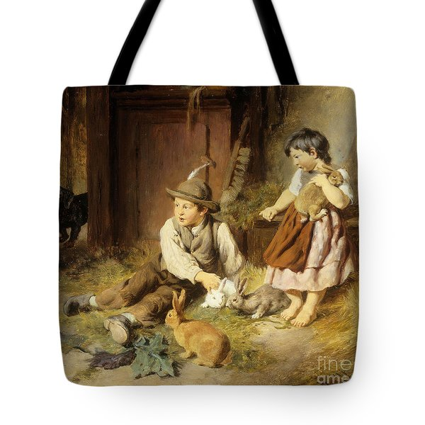 An Unwelcome Visitor Tote Bag by Felix Schlesinger