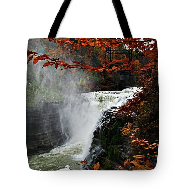 An Upper Letchworth Autumn Tote Bag