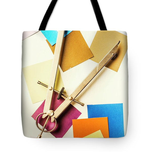An Upside Down Build Tote Bag