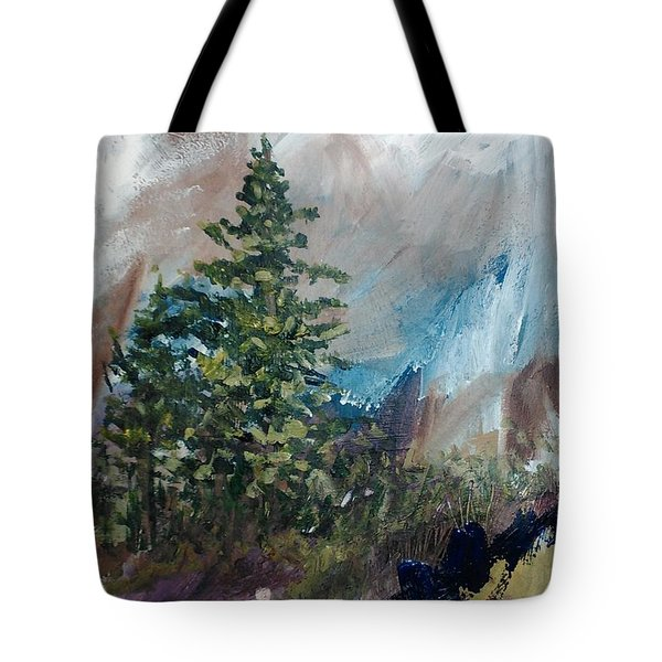 An Yosemite Afternoon Tote Bag