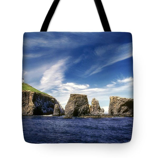 Channel Islands National Park - Anacapa Island Tote Bag
