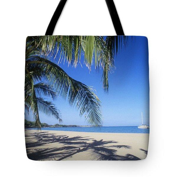 Anaehoomalu Bay Tote Bag by Greg Vaughn - Printscapes