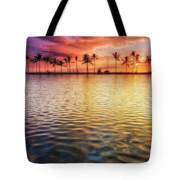 Anaehoomalu Sunset Tote Bag