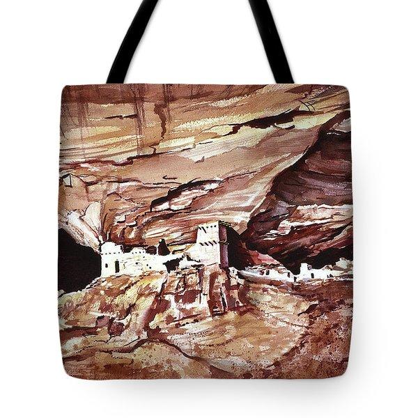 Anassasi Wall Ruins Tote Bag