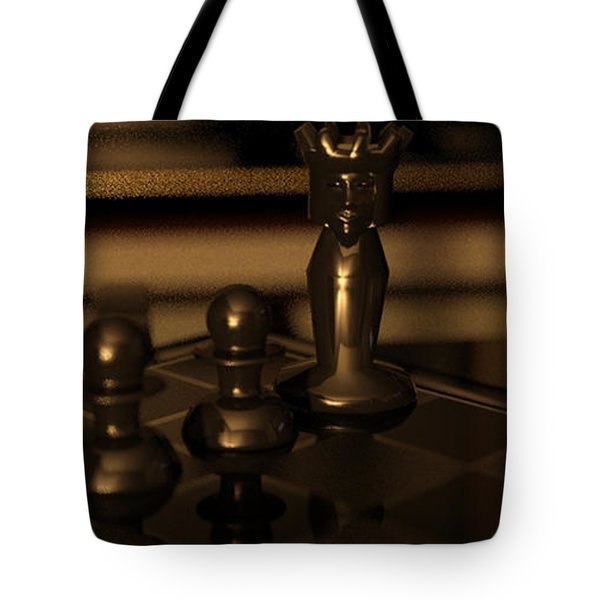 Anastasias Mate Tote Bag by James Barnes