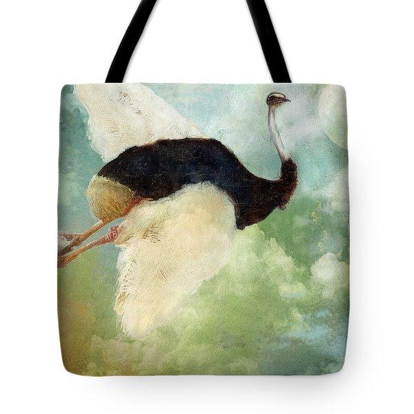 Anastasia's Ostrich Tote Bag