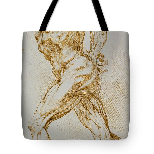 Anatomical Study Tote Bag