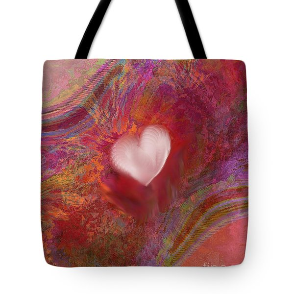 Anatomy Of Heart Tote Bag