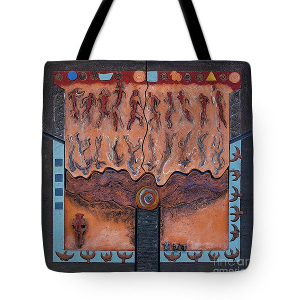 Ancestral Chart- Ancient Early - Hunters Gatherers - Chasseurs Cueilleurs - Cazadores Recolectores  Tote Bag