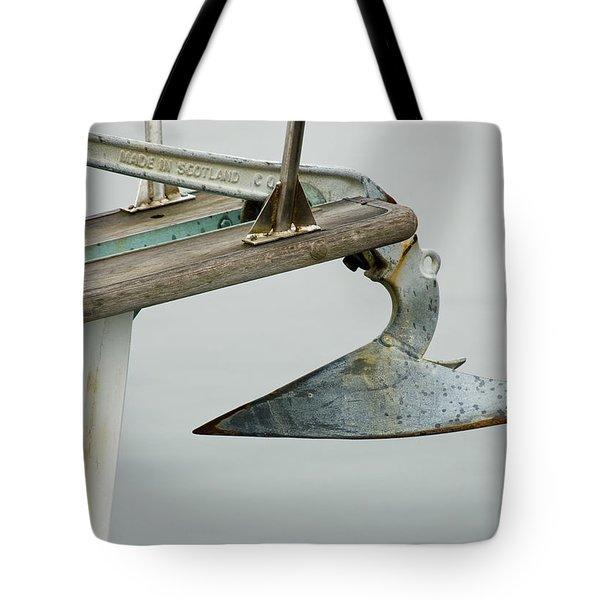 Sailboat Anchor Tote Bag