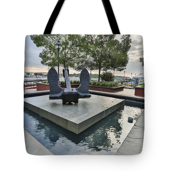 Anchor Monument Tote Bag