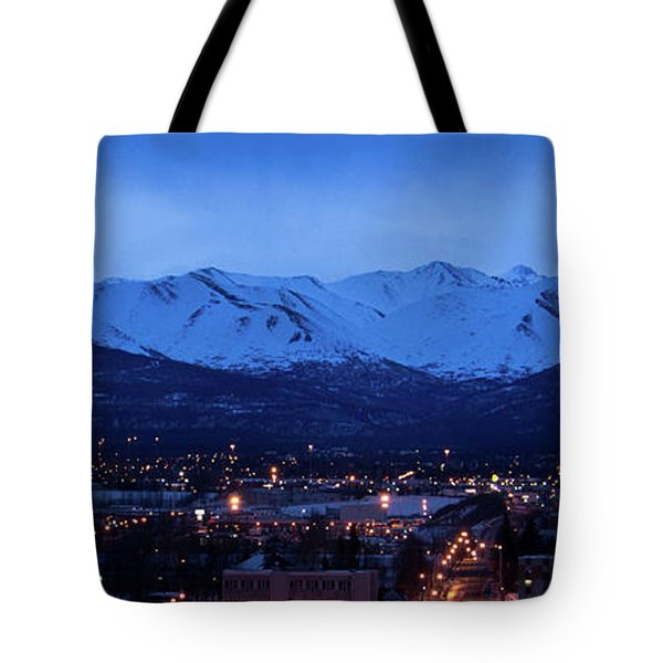 Anchorage At Sunrise Tote Bag