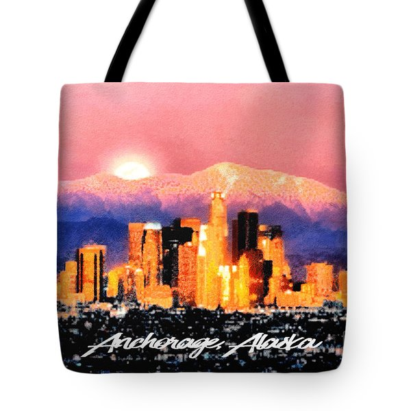 Anchorage - Bright-named Tote Bag