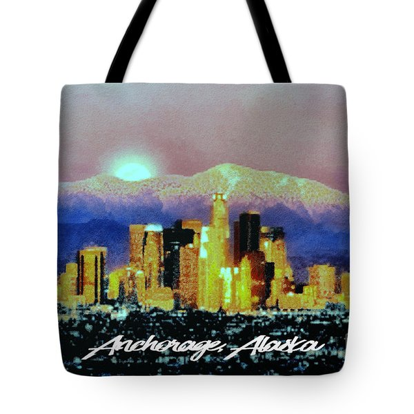 Anchorage-subdued Tote Bag