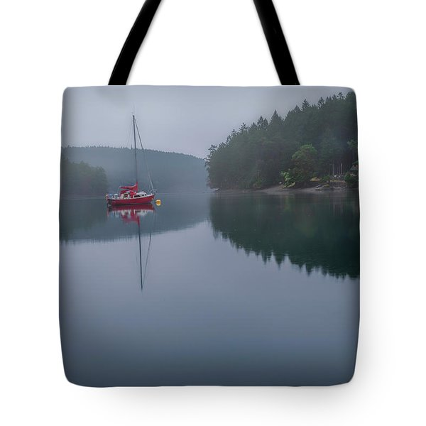 Anchored At Horton Bay Tote Bag
