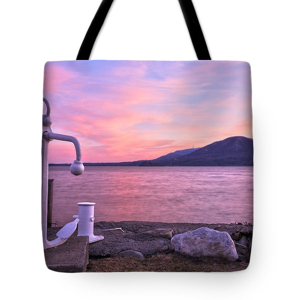 Anchors Aweigh Tote Bag by Angelo Marcialis
