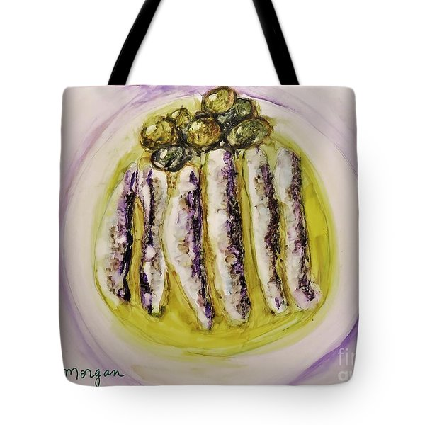 Anchovies And Olives Tote Bag