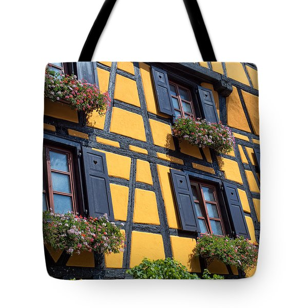 Ancient Alsace Auberge Tote Bag