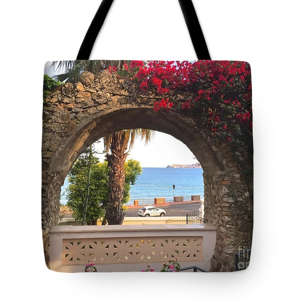 Ancient Arch Gaeta Italy Tote Bag