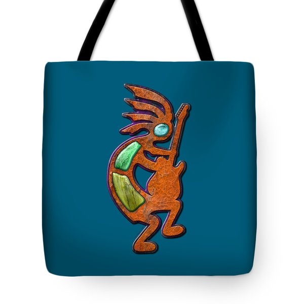 Ancient Blues T Shirt Tote Bag