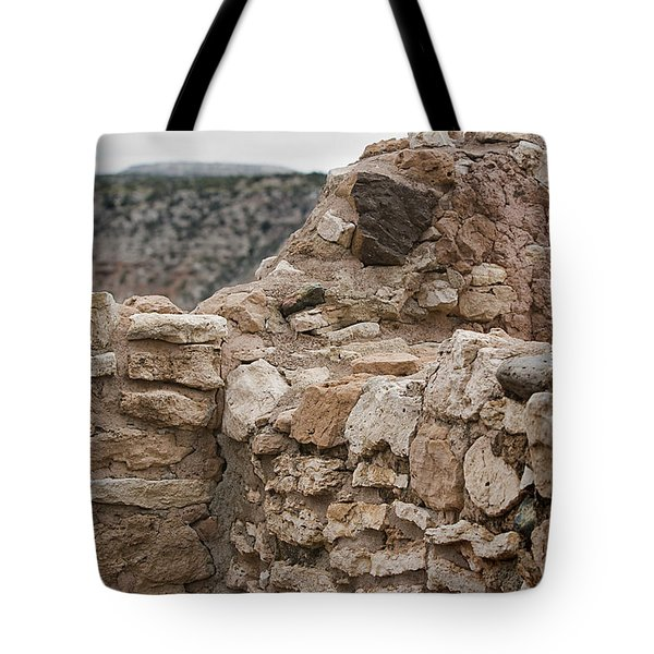 Tote Bag featuring the photograph Ancient Buildings by Phyllis Denton