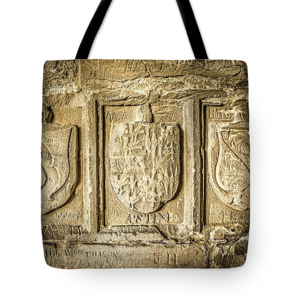 Ancient Carvings Tote Bag